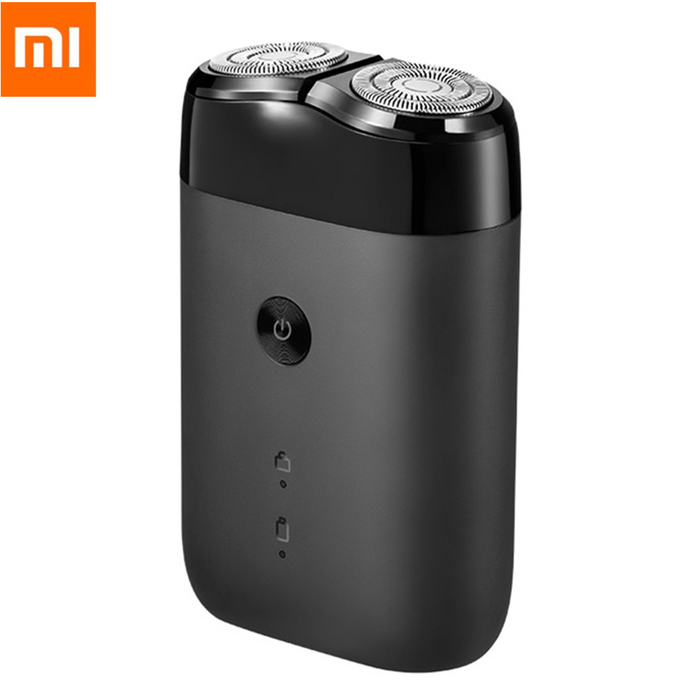 New 2019 Xiaomi Mijia Electric Shaver 2 Floating Head Shaver For Male Portable Waterproof Razor Shavers Mens USB Rechargeable