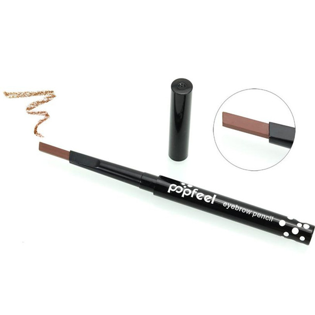 Popfeel Pro Women Makeup Single-head Rotary Brake Eyebrow Lasting Waterproof Not Blooming Easy To Color 2