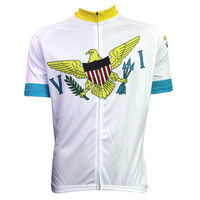 Bike Jerseys Cycling Equipment New Mens Cycling Jersey Comfortable Bike Bicycle Motorcycle Apparels VIRGIN ISLANDS Alien