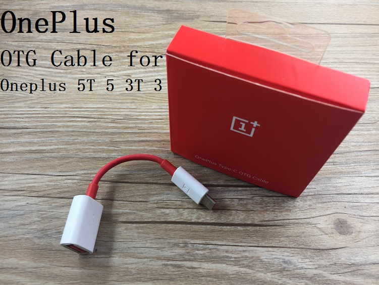 Original 1 Oneplus 5t 5 3 3t Type C Otg Cable Adapter For
