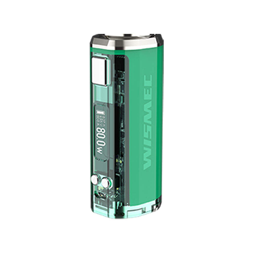 Le plus récent Original WISMEC sinueux V80 TC Box MOD alimenté par une seule cellule 18650 2A Charge rapide sans batterie Vape Mod Vs sinueux P80 - 2