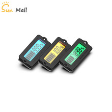 12 В 24 в 36 в 48 в свинцово-кислотная батарея LY6N утопленный индикатор емкости батареи тестер Вольтметр Зеленый светильник индикатор заряда батареи