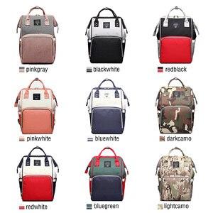 Image 5 - กระเป๋าเป้สะพายหลังหญิงกระเป๋าผ้าอ้อมผ้าอ้อมเด็ก Care Travel กระเป๋าเป้สะพายหลัง Designer กันน้ำกลางแจ้งสตรีมีครรภ์