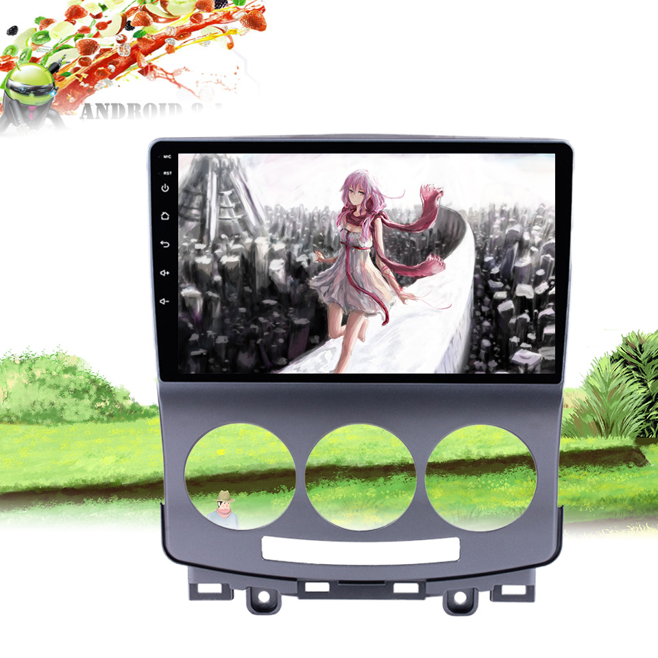 Android 9.0 octa core 2+32GB Car Radio DVD Player for <font><b>Mazda</b></font> <font><b>5</b></font> 2005-2010 <font><b>GPS</b></font> Glonass Navigation Audio Video SWC Head Unit image