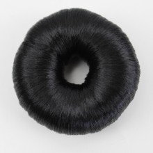 JOY&BEAUTY Donut Chignon Hot Women Synthetic Fiber Hair Bun Donuts Ring Blonde Hair Extension Wig 4 Color(China)