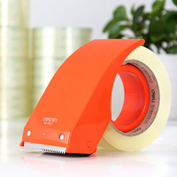 Durable Tape Dispenser Stainless Sharp Sawtooth Carton Sealer High Quality Tape Cutting Machine Deli 802