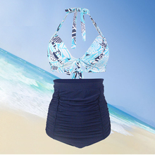 Bath Suit 2 Pieces Plus size Swimwear Bikini 2019 Women Swimsuit Bikini Set High Waist Brazilian Swim Suit Maillot De Bain Femme sexy brazilian bikini 2018 plus size swimwear women swimsuit dressbathing suit print biquini swim suit maillot de bain skirt