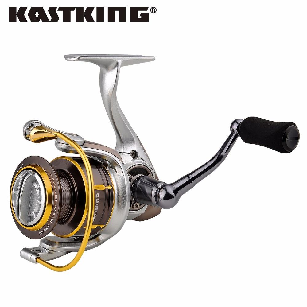 KastKing Kodiak 2017 Full Metal Body 18KG Superior Ratio 5.2:1 Ice Fishing Reel Spinning Reel kastking kodiak 2016 hot sale 2000 5000 series aluminum spool superior ratio 5 2 1 spinning fishing reel spinning reel