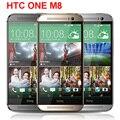 """Original HTC One M8 Desbloqueado GSM/WCDMA/LTE Quad-core RAM 2 GB Telefone Celular HTC M8 5.0 """"3 Câmeras de Telefone"""
