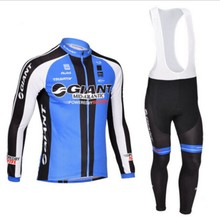 2015 Giant Pro Team Cycling Jersey Long Sleeve Clothing sport Bicycle Men MTB Fitness Riding Sportswear Ropa Ciclismo