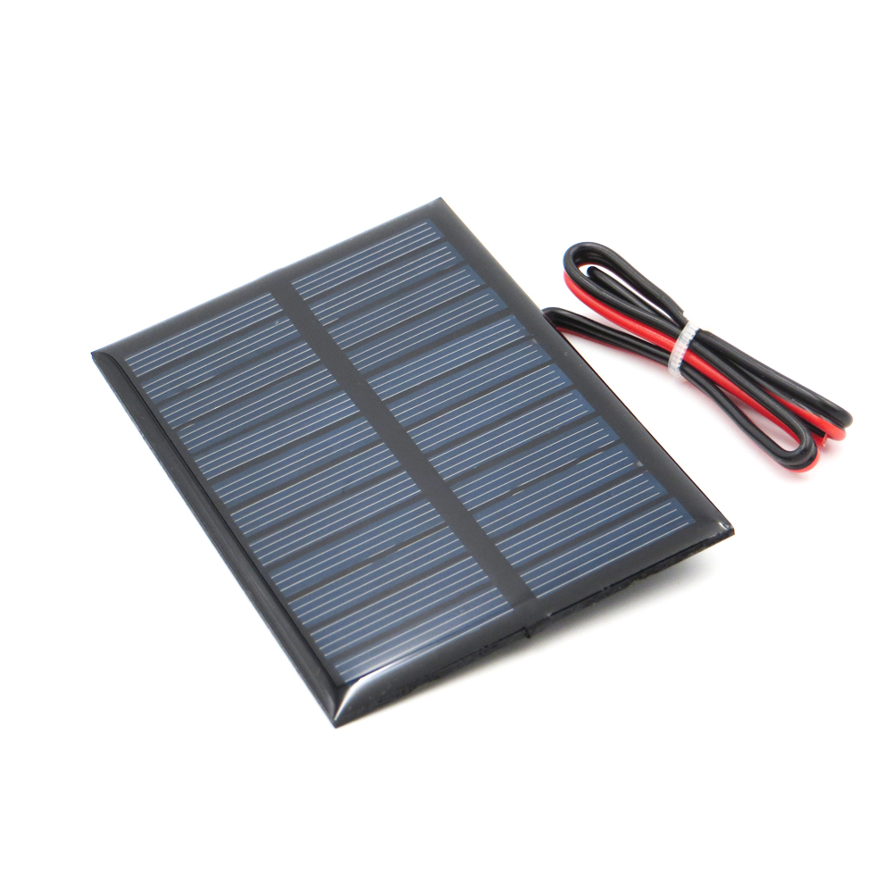 Solar Panel 5V 150mA with 30cm extend wire Polycrystalline Silicon DIY Battery Charger Small Mini Solar Cell enducation