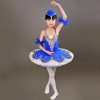 2017 New Kid Professional Swan Lake Ballet Tutu Costume For Children Ballat Dance Kids Ballet Dress