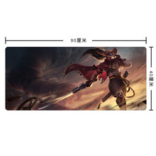 large size The Unforgive gaming mouse pad laptop mousepad table mat locking edge non-slip mouse pad for League of Legends
