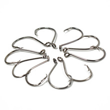 10Pcs Octopus Circle Fishing Hooks High Carbon Steel Overturned Fishhooks Big Sea Fishing Hook Fishing Accessories