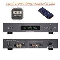 Dual core ES9038PRO DAC Digital to Analog Converter Audio Decoder DSD USB OPT