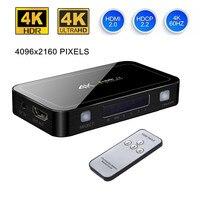 Mini 4 Port 4x1 HDMI Switch Ultra HD 4K 60Hz HDMI 2 0 HDCP 2 2