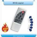 O envio gratuito de 4 frequência RFID Copiadora/Duplicador/Cloner ID reader & escritor + 10 pcs T5557 gravável keyfob