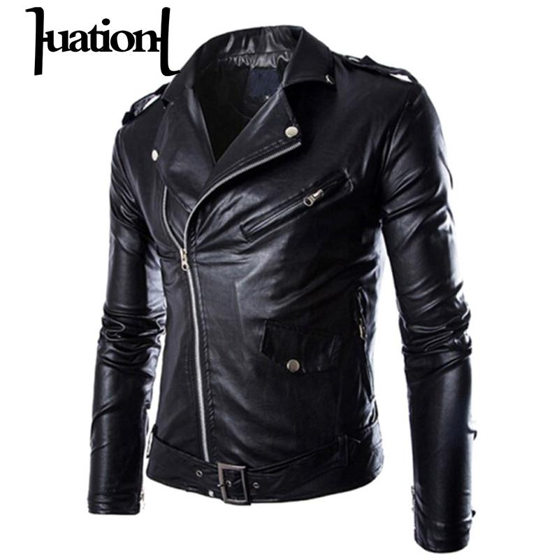 Huation Chaquetas Hombre 2018 Fall Veste Cuir Homme Casual Jacket Men  Blouson Turn Down Collar Jaqueta De Couro Men Jacket Coats In Faux Leather  Coats From ...