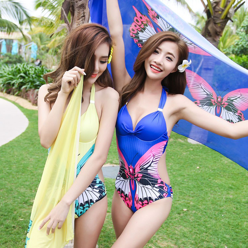 Swimming Suit For Women One Piece Swimsuit Plus Size Swimwear Large Swimsuits 2017 New Triangle Mayo Maio Bayan Costume De Bain swimming suit for women sexy one piece swim suits may beach girls plus size swimwear 2017 new korean push up d 16117 mayo maio