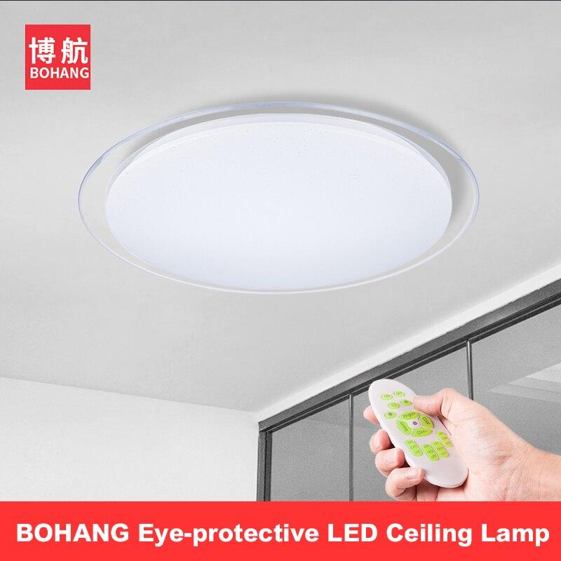 Moderne Intelligente Fernbedienung Blickschutz Led Deckenleuchte 2,4G RF  Fernbedienung Dimmen Hause Schlafzimmer Wohnzimmer Decke Lichter Leuchte