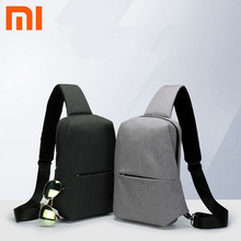 Original Xiaomi mijia Backpack Sling Bag Leisure Chest Pack Small Size Shoulder Type Unisex Rucksack Crossbody Bag 4L Polyester