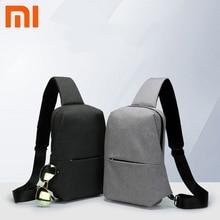 Original Xiaomi mijia sac à dos sac à bandoulière loisirs poitrine Pack petite taille épaule Type unisexe sac à dos sac à bandoulière 4L Polyester
