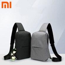 Originale Xiaomi norma mijia Dello Zaino Sling Bag Per Il Tempo Libero Pacchetto della Cassa Tipo di Piccola Dimensione di Spalla Unisex Zaino Crossbody Bag 4L Poliestere