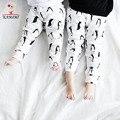 Kamimi 2017 resorte muchachas de los bebés pantalones geométrica animal fox/canguro/penguin/perro legging para 0-4 años infantiles niños pantalones