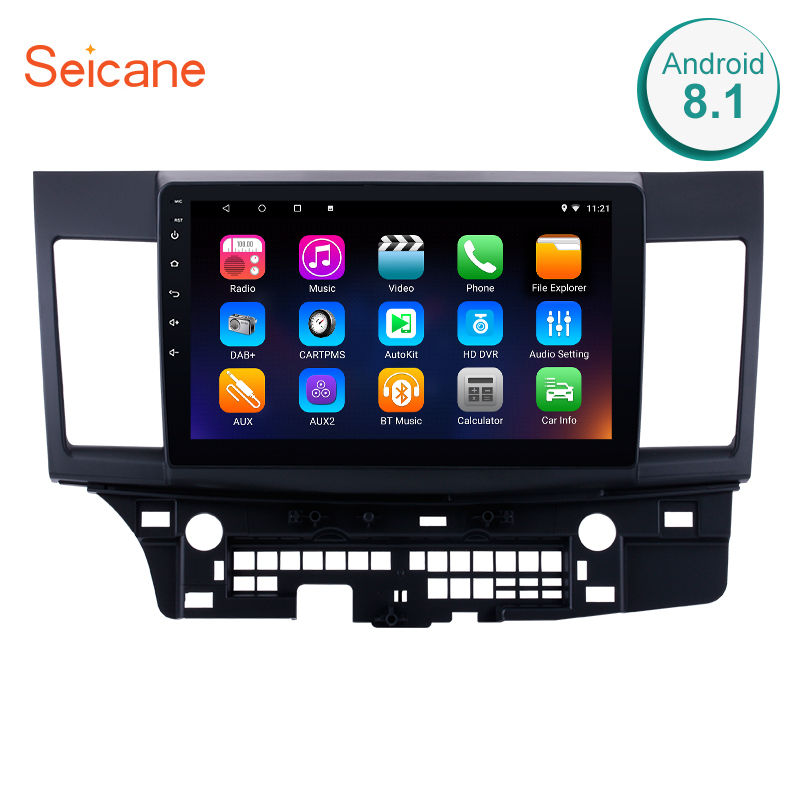 Seicane 2din 10.1 Android 8.1/7.1 GPS Navigation Radio for 2008-2015 Mitsubishi Lancer-ex with support Mirror Link OBD2 TPMSSeicane 2din 10.1 Android 8.1/7.1 GPS Navigation Radio for 2008-2015 Mitsubishi Lancer-ex with support Mirror Link OBD2 TPMS