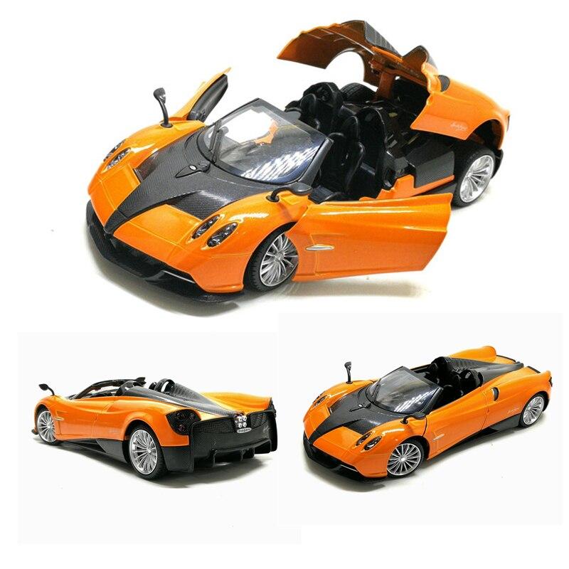 1:24 Pagani modèle de voiture, simulation jouet en métal moulé sous pression, modèle de voiture de sport de collection avancée, cadeaux exquis, livraison gratuite