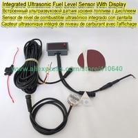 Integrated Ultrasonic Fuel Consumption Level Sensor For Water Diesel Petro Palm Oil Generator Fuel Tank Range 1.2M RS232