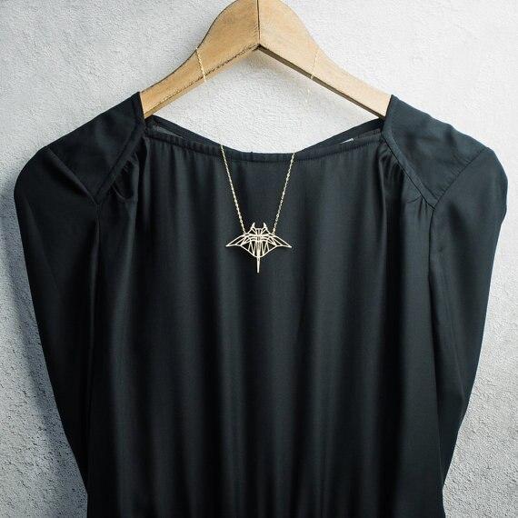 Moda lato Dragonfly naszyjnik złoty naszyjnik manta ray naszyjnik plaża biżuteria YLQ0563