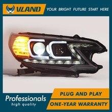 Vland фабрика для автомобиля фара для CRV 2012 2013 2014 фары с DRL светодиодный свет бар объектив проектора H7 Xenon