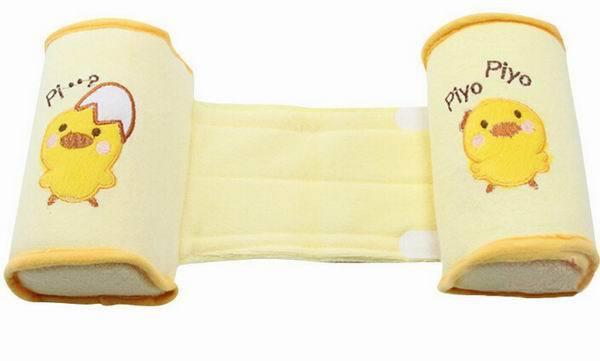 comfortable cotton anti roll pillow and anti-rollover head positioner for babies
