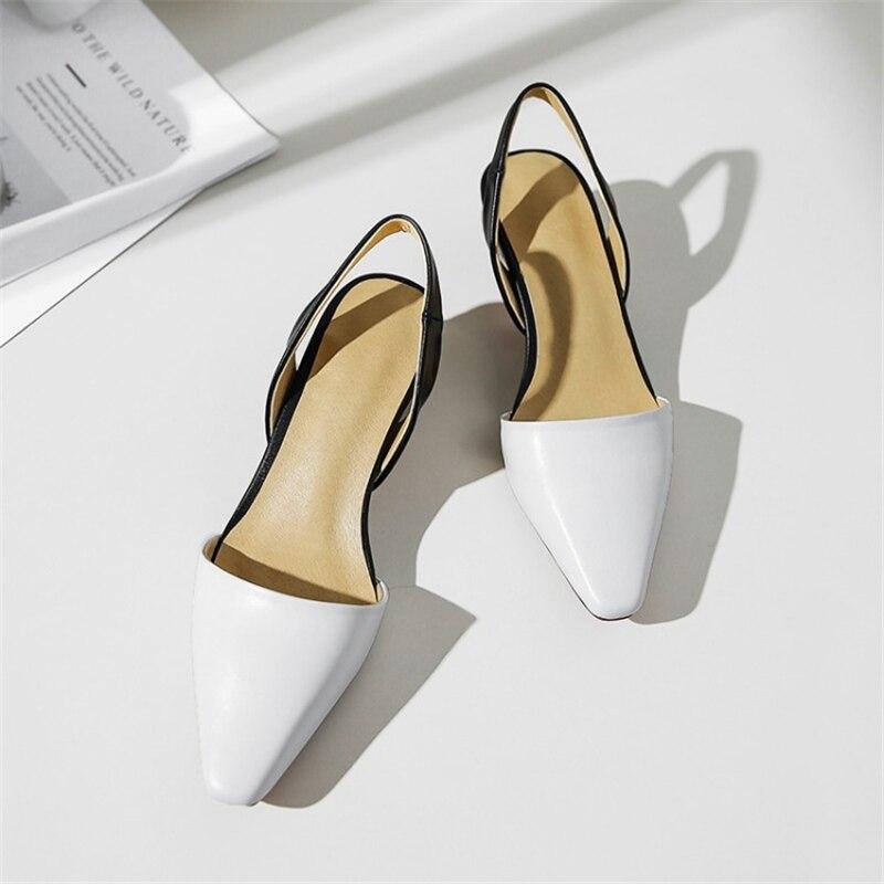 MSSTOR الكريستال الصنادل الجلدية النساء مربع اصبع القدم غريبة نمط أنيقة الأزياء الأصفر الصنادل مختلط الألوان الصنادل عالية الكعب-في الكعب المتوسط من أحذية على  مجموعة 3