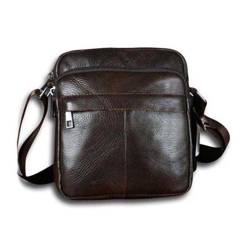 8d257d5d71c44 حار بيع جديد الموضة حقيقية الجلود الرجال أكياس صغيرة ترفيه حقيبة الكتف حقيبة