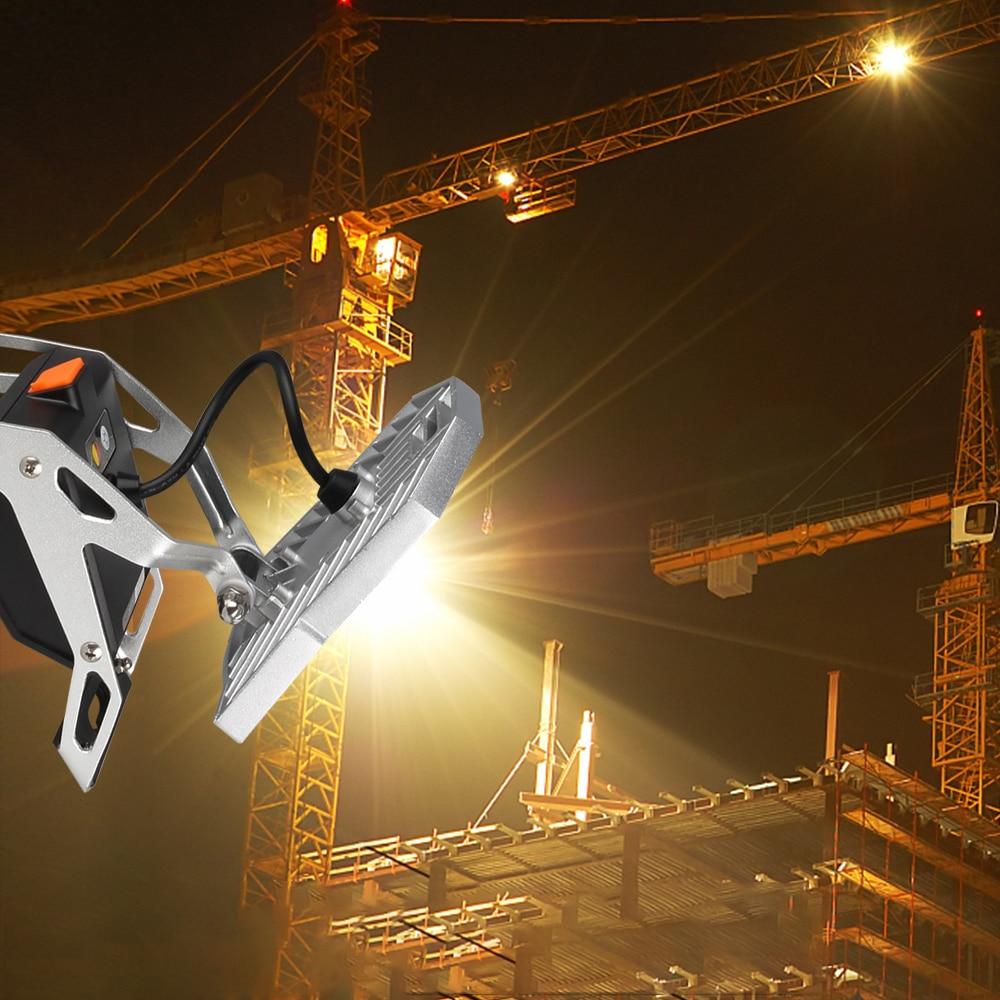 USB Rechargeable Portable LED Work Light 10W 1200 Lumen Spider Mobile Task Light For Garage Cars