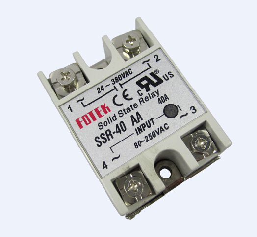 Single Phase 40A Solid State Relay SSR 40AA SSR 40DA For IR6000 - Solid State Relay Ir
