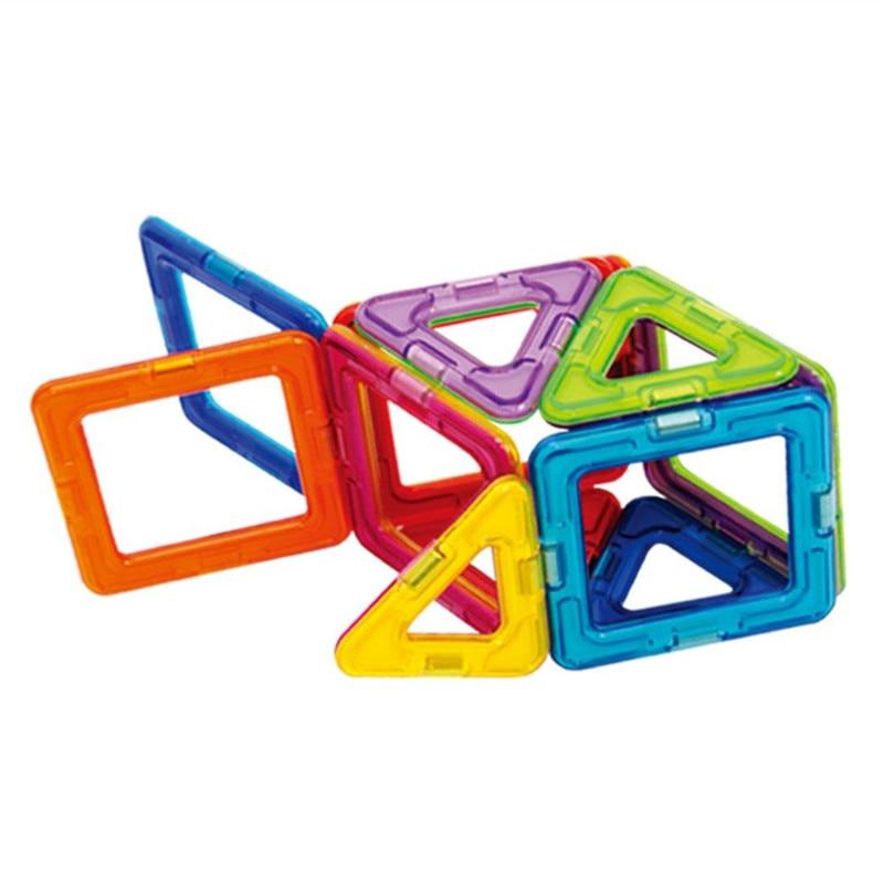 32pcs Magnetic Building Blocks Toys Magformers 3D Diy Creator Building Bricks For Children Toys Gifts 32 32 dots plastic bricks the island straight crossroad curve green meadow road plate building blocks parts bricks toys diy
