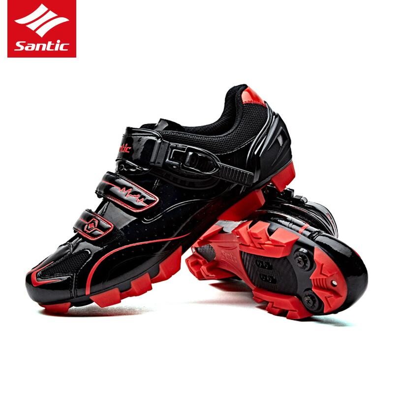Santic Cycling Shoes Mountain Bicycle bike Racing shoes Self-Locking Bike MTB Shoes sapatilha zapatillas ciclismo 39-45 boodun breathable men s cycling shoes road mountain bike shoes racing self locking cycling sneakers sapatilha ciclismo mtb shoes