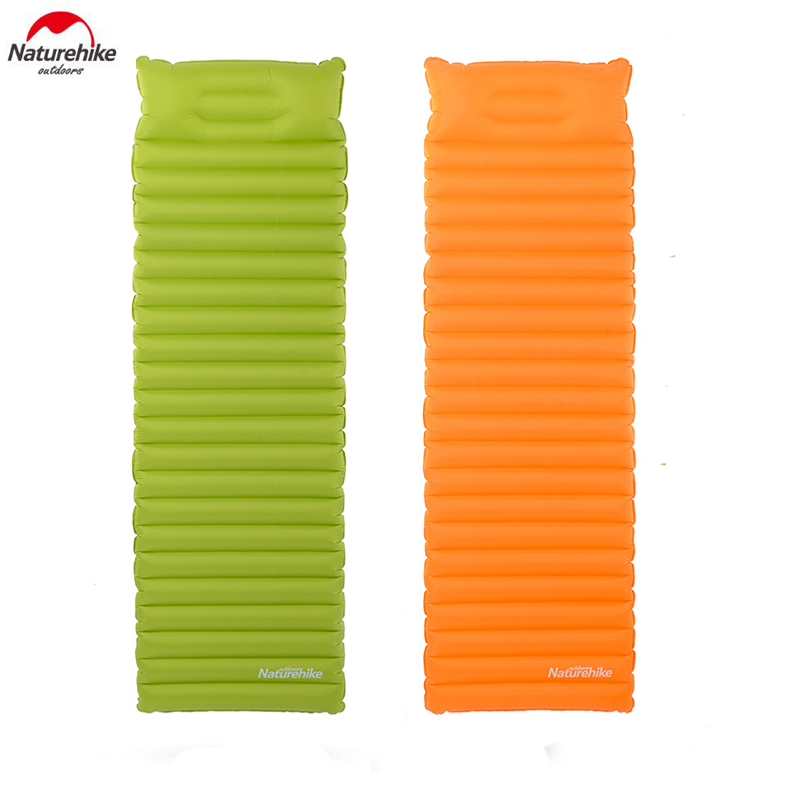 Naturehike Outdoor Air Mattress with Pillow Camping Tent Pad Travel Moisture-proof Mat NH16D003-D red fox куртка утепленная мужская focus синий