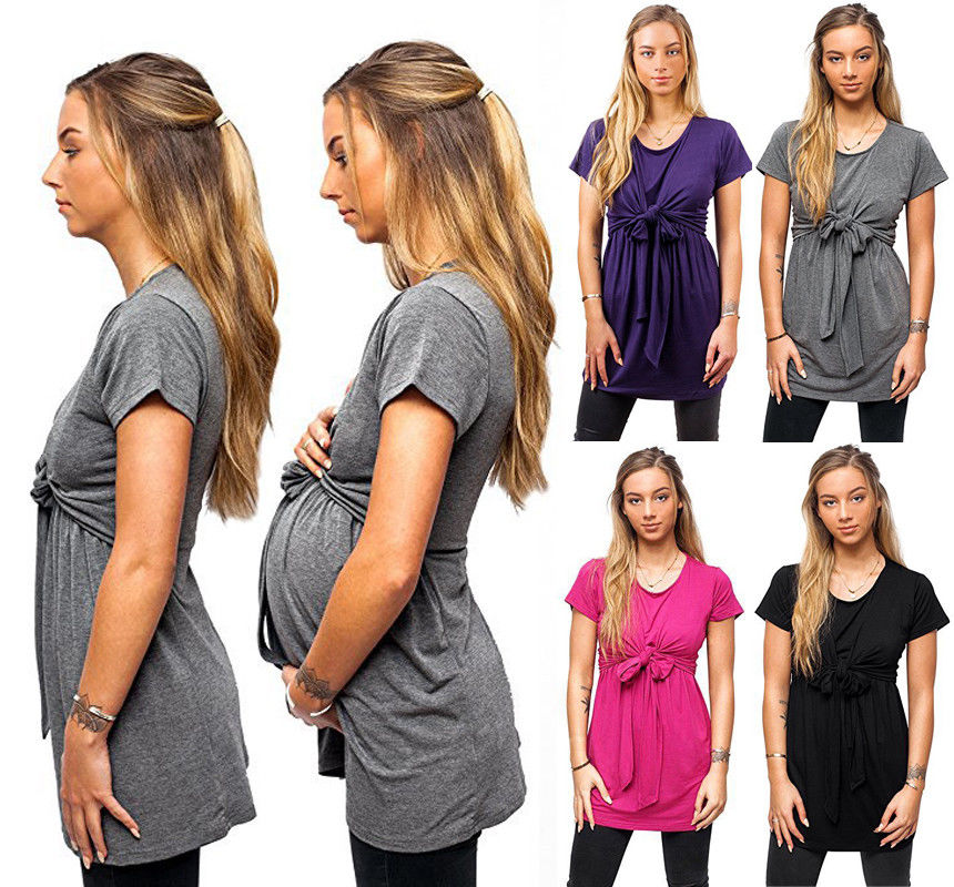 Maternity Clothing Shirt Women'