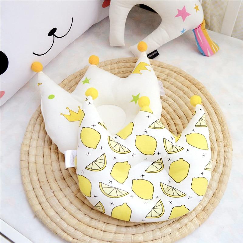 Baby Pillow Head Positioner Nursing Pillow For Newborn Kids Pillows Cartoon Anti-rollover 0-6 Month YCZ008