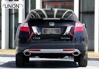 For Honda Crosstour 2014 Chrome Rear Trunk Lid Cover Tail Door Molding Cover Trim 2 pcs