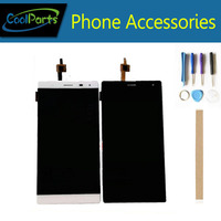 1PC/Lot High Quality For Dexp Ixion XL155 LCD Display Screen And Touch Screen Digitizer Replacement White Color With Tools&Tape