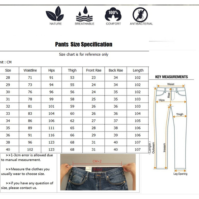 Icpans Men Suit Pants Length Black Gray Business Plaid Trousers Men Formal Chinos Office Pants Male Trousers Slim Plus SIze 40