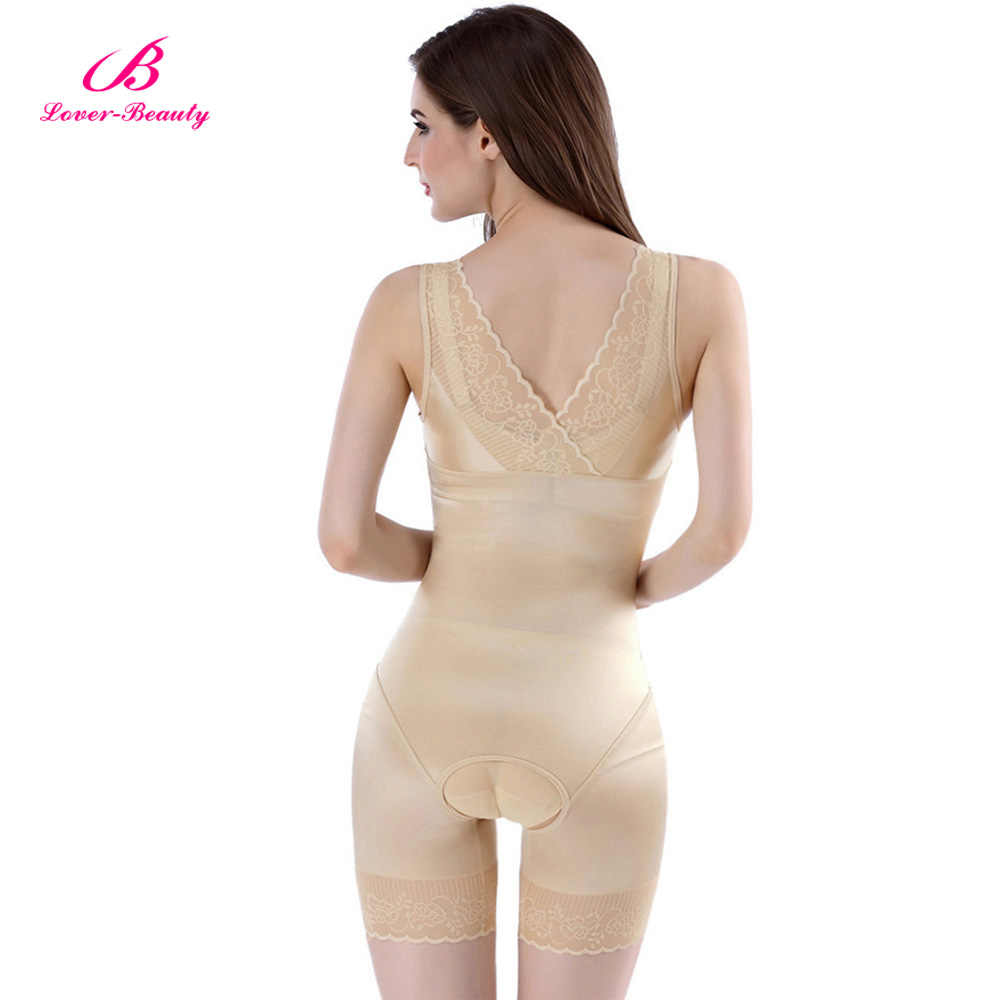3635bfd2201 ... Lover Beauty Lady Slimming Burn Fat Briefs Shapewear Tummy Slim Bodysuit  Full Body Shaper Slimming Underwear ...