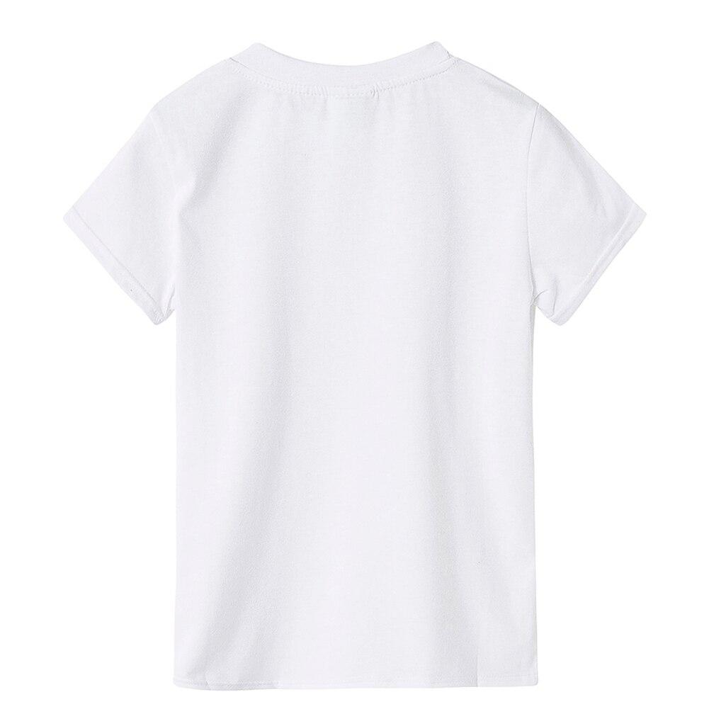 2018 Cartoon Dolls Girl T Shirt short sleeve casual Kids Tshirt Children T-shirt Baby Summer Clothes T Shirt Meisjes Kinderen