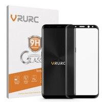 Vrurc 3D Gebogene Cover Gehärtetem Glas für Samsung Galaxy S8 S8 Plus Displayschutzfolie Telefon glas Film mit einzelhandel paket