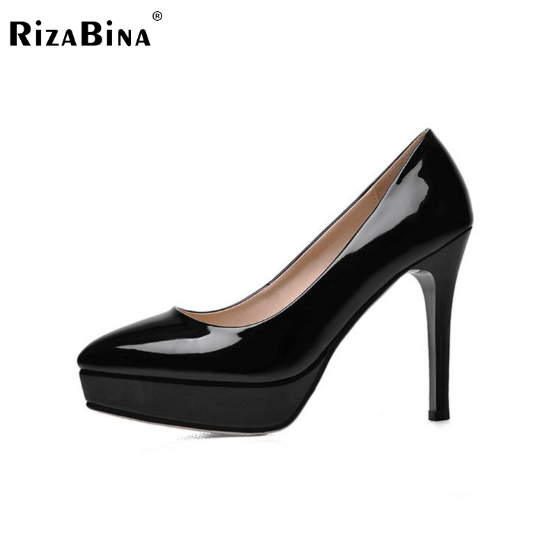 women thin high heel shoes lady platform spring glatiator fashion pumps heeled footwear heels shoes size 34-39 P16168 taoffen women high heels shoes women thin heeled pumps round toe shoes women platform weeding party sexy footwear size 34 39